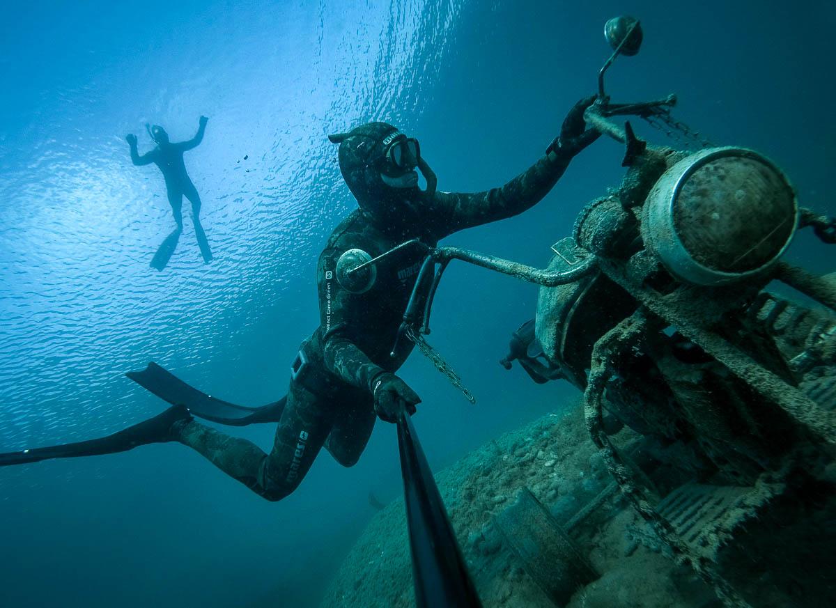 Moto Diving - Gulaska - Motorka